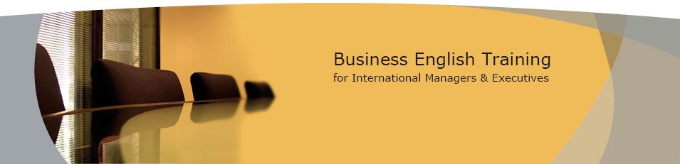 Business English Training for International Managers & Executives