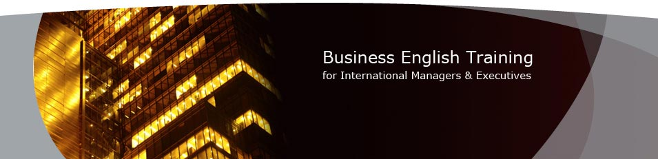 Business English Training for International Managers & Executives - business english for managers