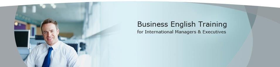Business English Training for International Managers & Executives - business English