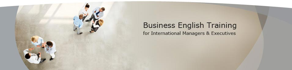 Business English Training for International Managers & Executives - executive English training