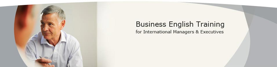 Business English Training for International Managers & Executives - international business english